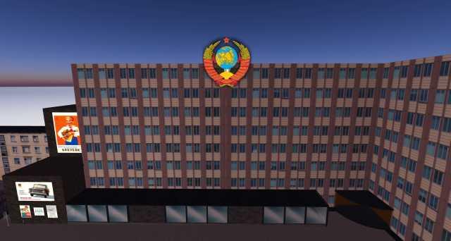 Second Life, новый русский остров - USSR